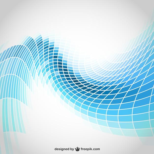 Abstrait des formes géométriques fond Vecteur gratuit