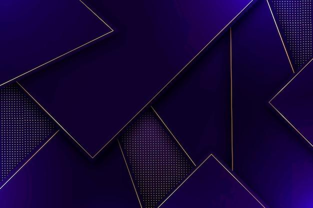 Abstrait De Formes Polygonales Vecteur gratuit