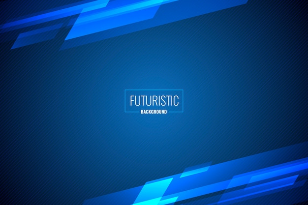 Abstrait Futuriste Vecteur gratuit