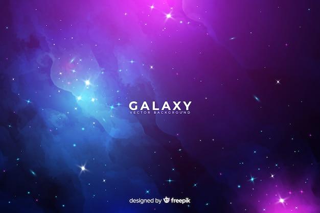 Abstrait de la galaxie Vecteur gratuit