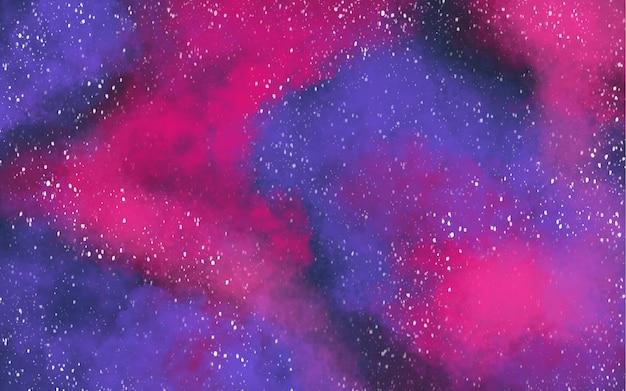 Abstrait Galaxy Vecteur gratuit