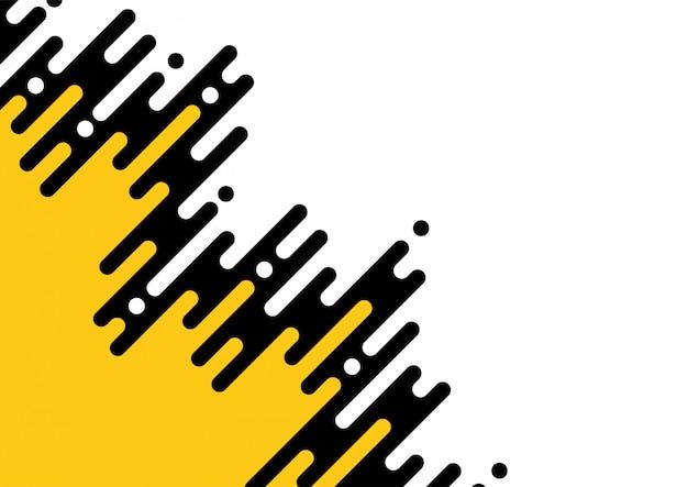 Abstrait géométrique coloré pour brochure Vecteur Premium