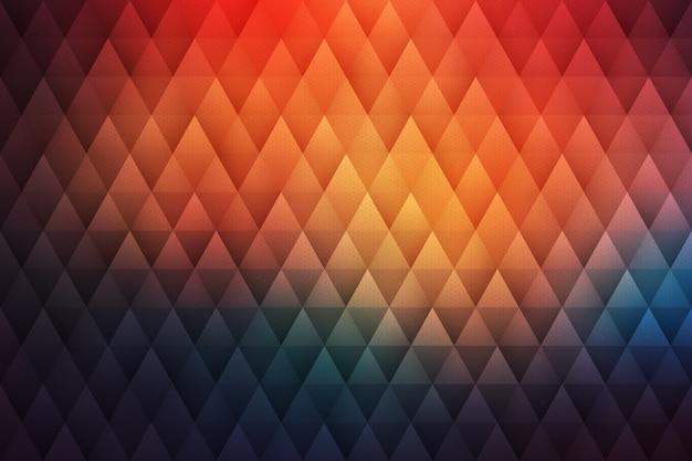 Abstrait Géométrique Hipster Vecteur Premium
