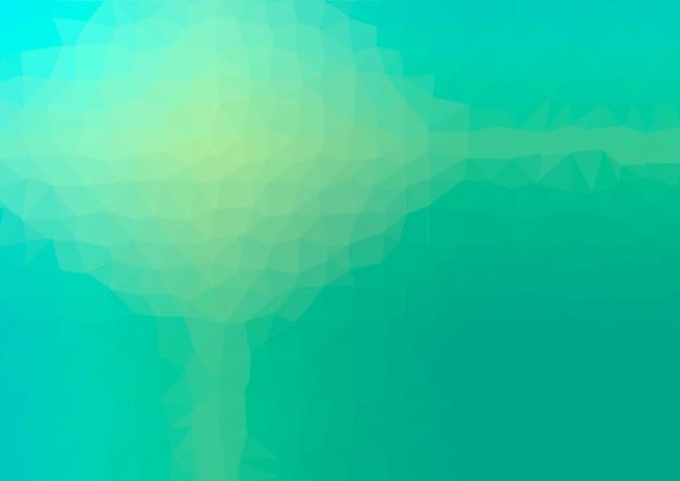 Abstrait Géométrique Low Poly. Vecteur D'effet De Cristal Polygonal. Textures Futuristes. Vecteur Premium