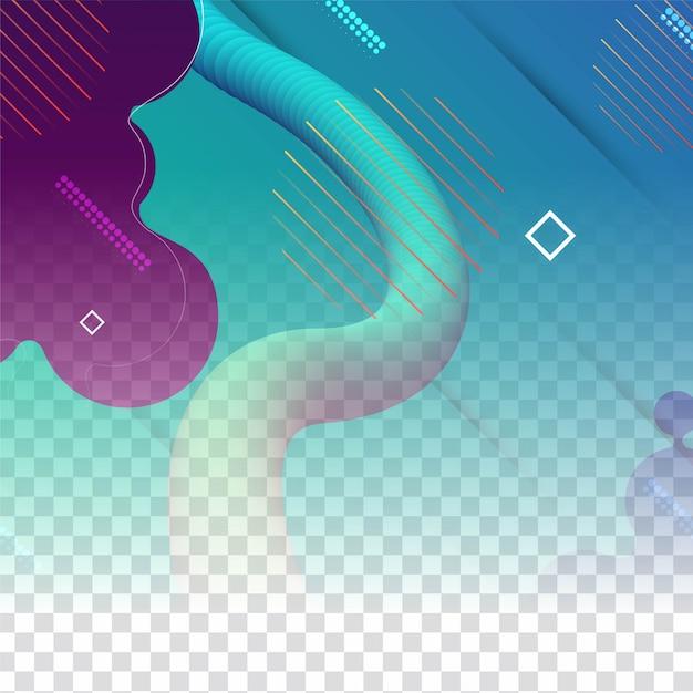 Abstrait Géométrique Transparent Vecteur gratuit