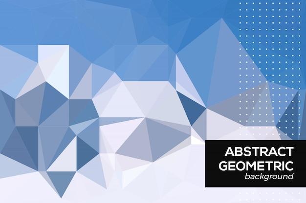 Abstrait géométrique Vecteur Premium