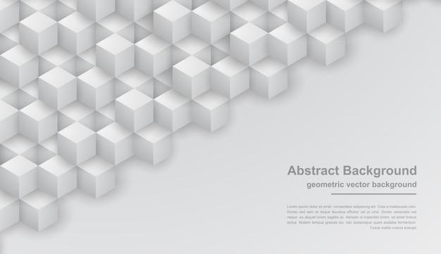 Abstrait gris texture avec des formes hexagonales. Vecteur Premium