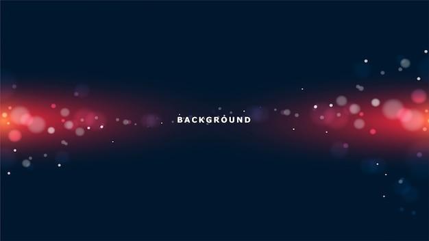 Abstrait lumières rougeoyantes Vecteur Premium
