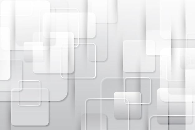 Abstrait Minimal Blanc Vecteur gratuit