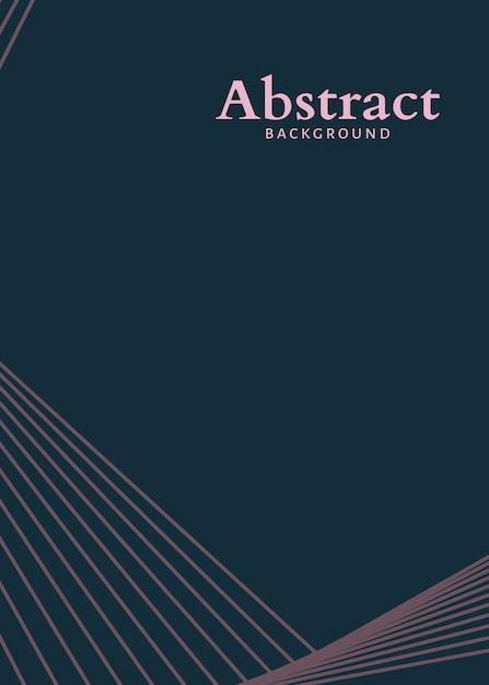 Abstrait minimaliste Vecteur gratuit