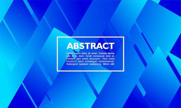 Abstrait moderne avec une forme de rectangle qui se chevauchent Vecteur Premium