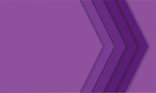 Abstrait Moderne Lignes Violettes Vecteur Premium
