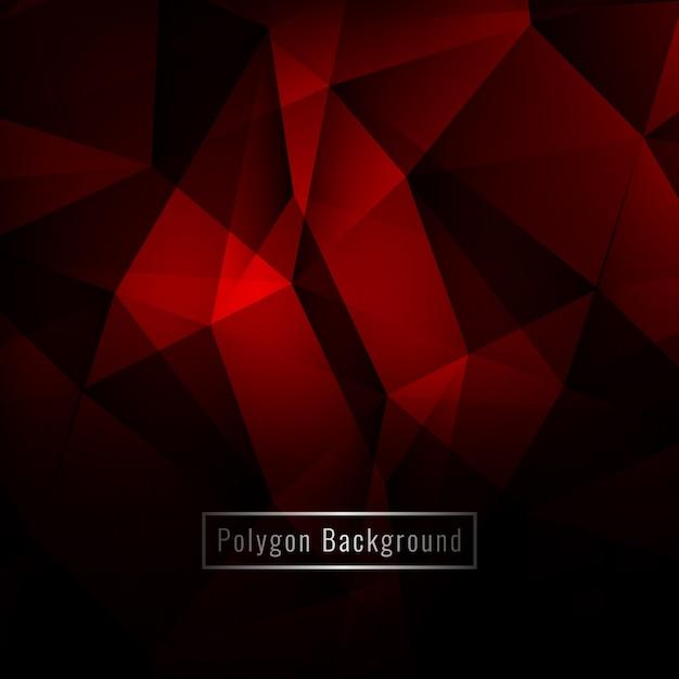 Abstrait moderne polygone géométrique coloré Vecteur gratuit