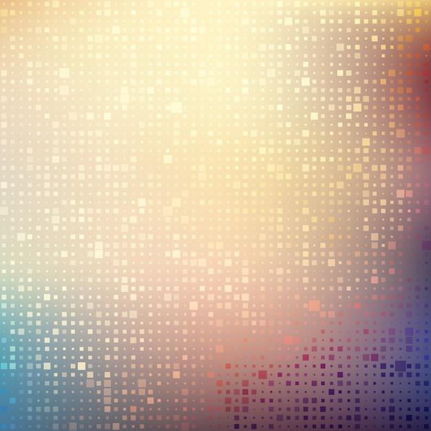 Abstrait mosaïque fond Vecteur gratuit