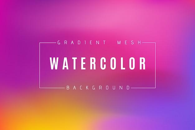 Abstrait multicolore dégradé brillant. Vecteur Premium