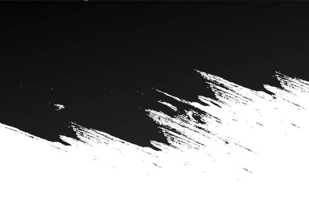 Abstrait Noir Splat Grunge Vecteur gratuit