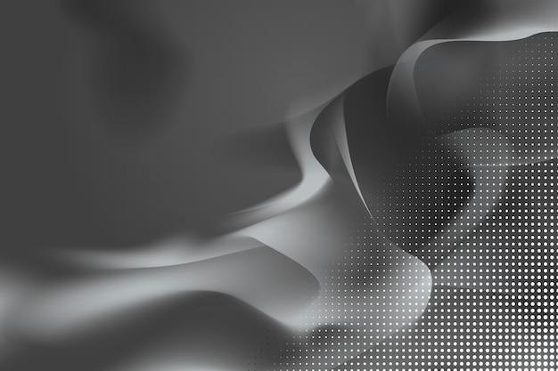 Abstrait ondulé Vecteur gratuit