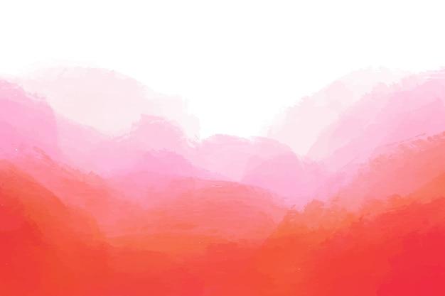 Abstrait Peint à La Main Vecteur gratuit
