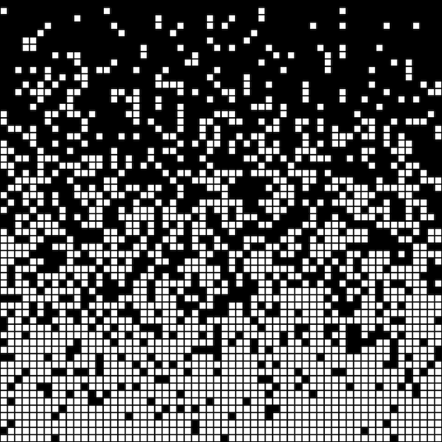 Abstrait pixel Vecteur Premium