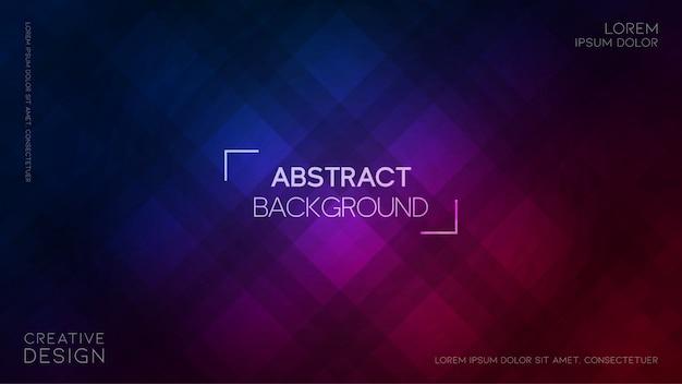 Abstrait Rectangulaire Vecteur Premium