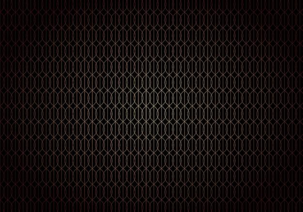 Abstrait style art déco noir Vecteur Premium