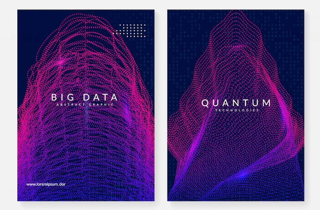 Abstrait De La Technologie Numérique. Intelligence Artificielle, Apprentissage En Profondeur Et Big Data. Vecteur Premium