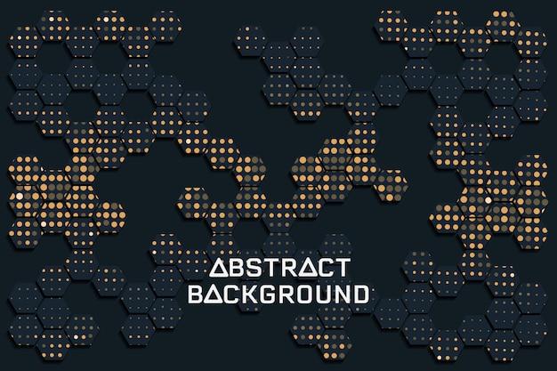 Abstrait texture noir Vecteur Premium