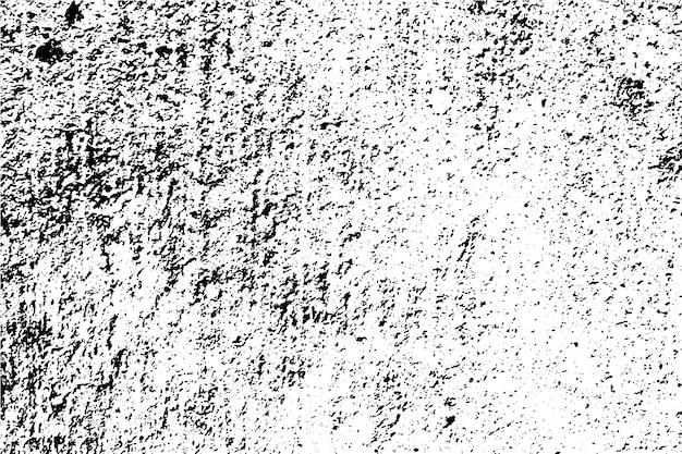 Abstrait de texture de surface grunge noir et blanc Vecteur Premium