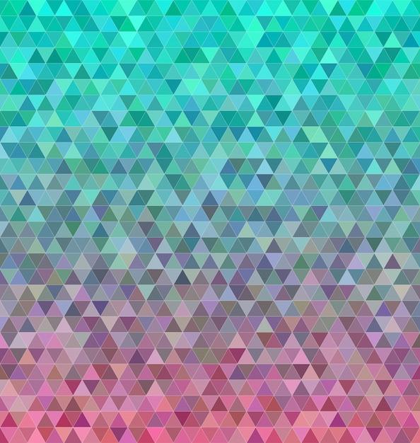 Abstrait, triangle, mosaïque, carreaux, fond Vecteur gratuit