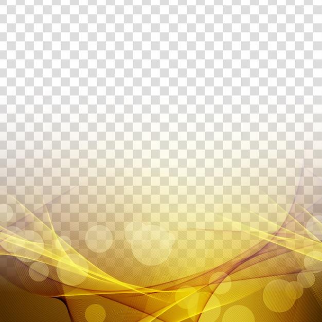 Abstrait vague rougeoyante élégante transparente Vecteur gratuit