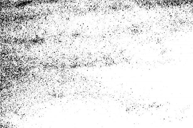 Abstrait vectoriel fond de texture de surface grunge noir et blanc. Vecteur Premium