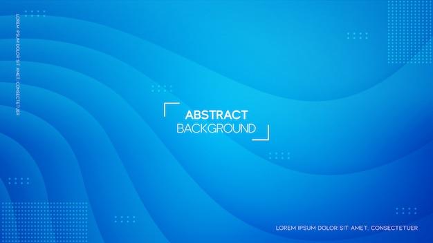 Abstrait Vert Avec Style Géométrique Vecteur Premium