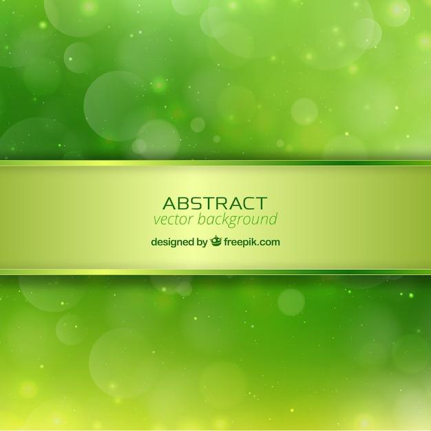 Abstrait vert Vecteur gratuit