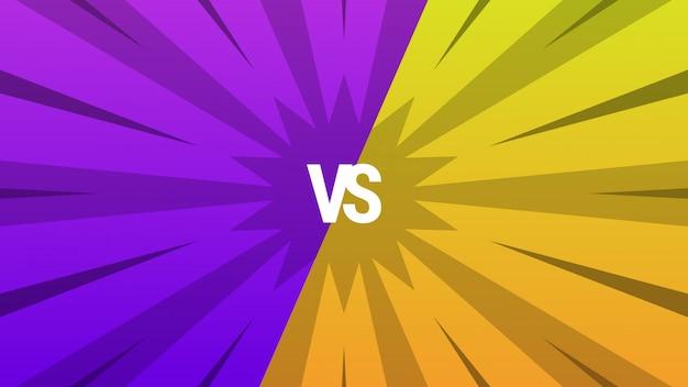 Abstrait violet et jaune par rapport à l'arrière-plan Vecteur Premium