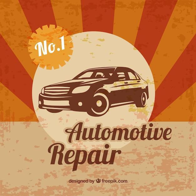 Affiche de la r paration automobile t l charger des for Ordre de reparation garage a telecharger