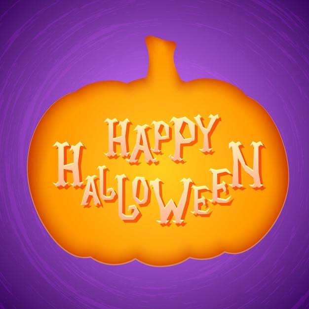 Affiche de fête d'halloween ou carte d'invitation Vecteur Premium