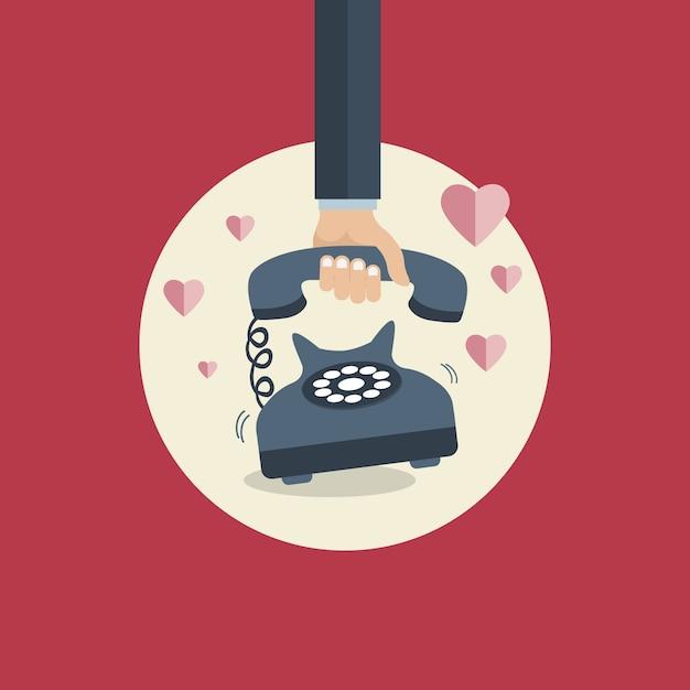 Affiche de saint valentin Vecteur gratuit