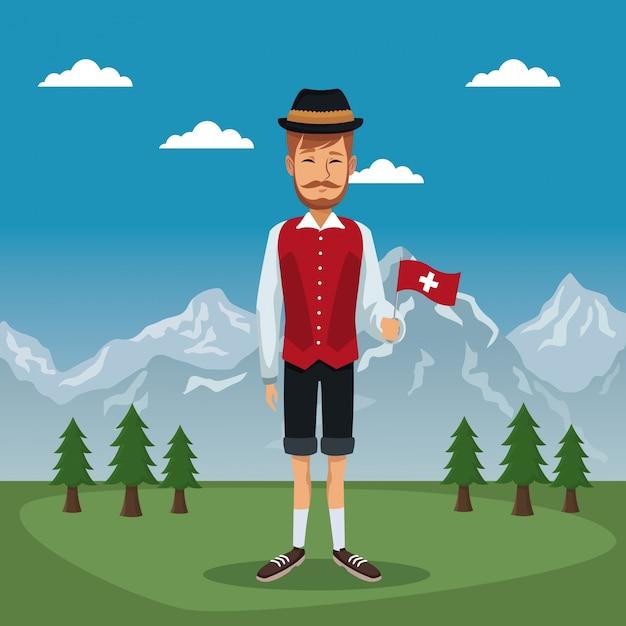 affiche-suisse-homme-costume-traditionnel-petit-drapeau_18591-9969.jpg