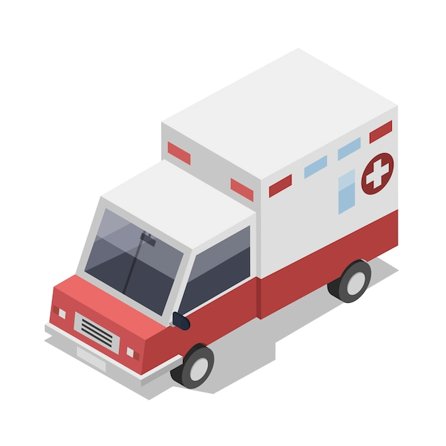 Ambulance Vecteur gratuit