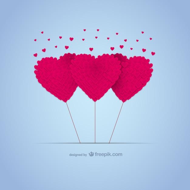 Amour Coeurs Carte à Télécharger Gratuitement Télécharger