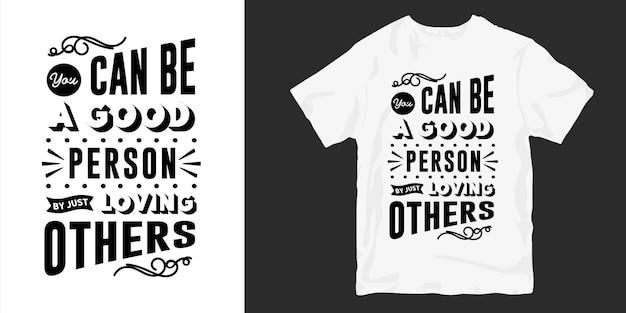 Amour Et Romantique Typographie Conception De T-shirt Slogan Citations Vecteur Premium