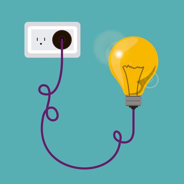 Ampoule Vecteur Premium