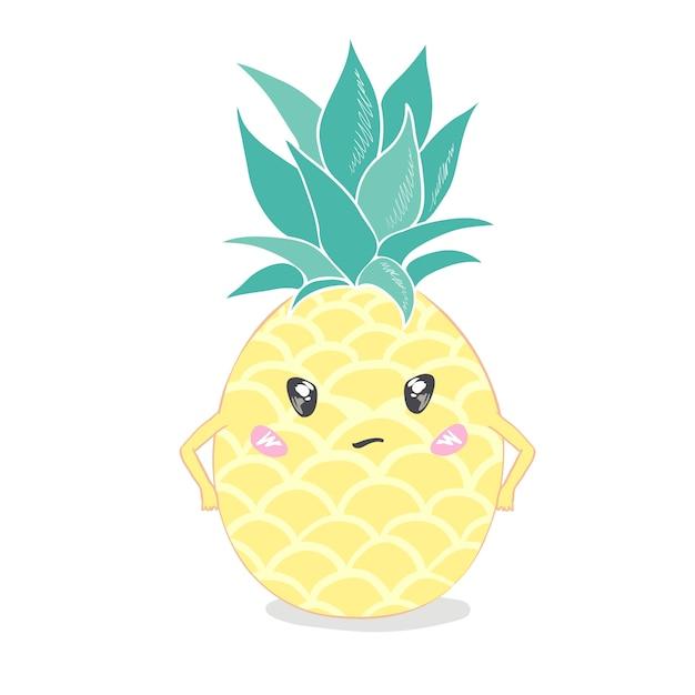 365 Dessin Kawaii Ananas