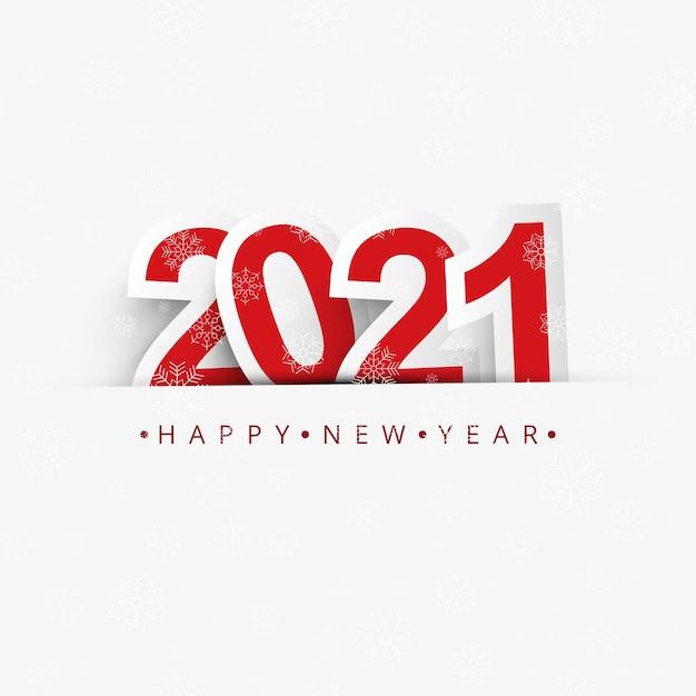 L'année 2021 A Affiché Un Fond De Célébration élégant Vecteur gratuit