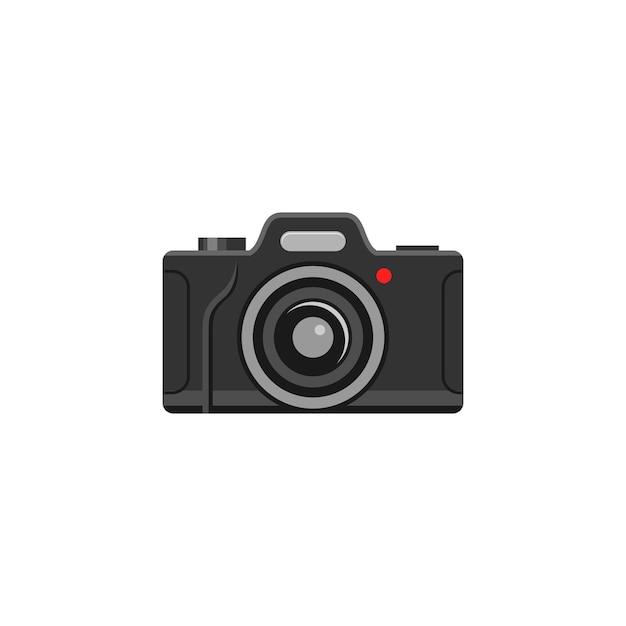 Appareil photo numérique Vecteur Premium