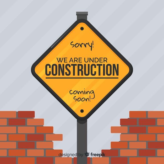Appartement en construction Vecteur gratuit