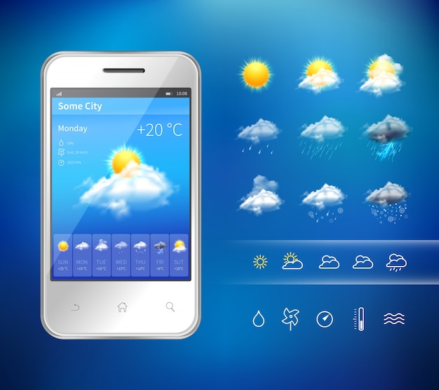 application météo gratuite