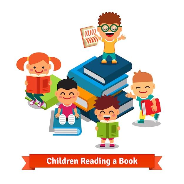 Apprentissage Des Enfants Et Concept D'éducation Vecteur gratuit