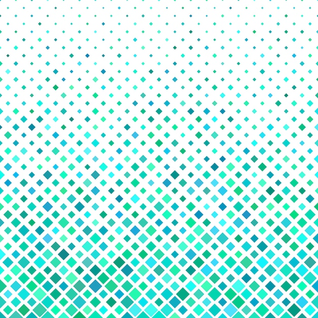 Aquamarine Mosaic Background Vecteur gratuit