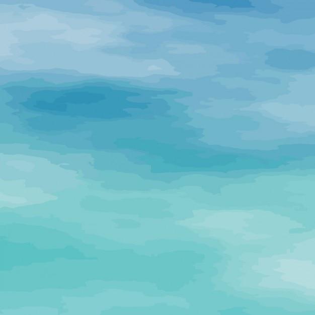 Aquarelle Eau Texture   Vecteur Gratuite